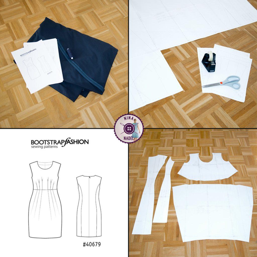 Vorbereitungen Kleid 1