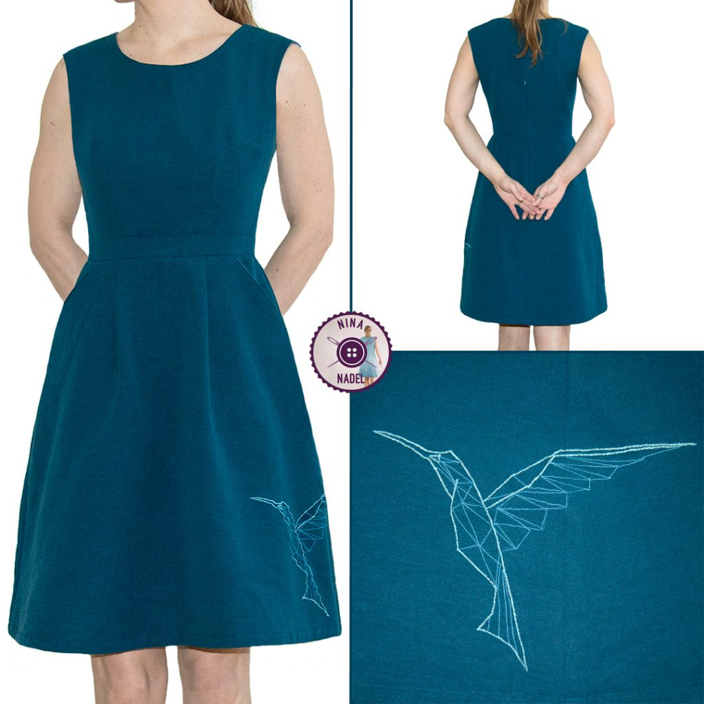 Schnittmuster Rezension: Belladone Dress