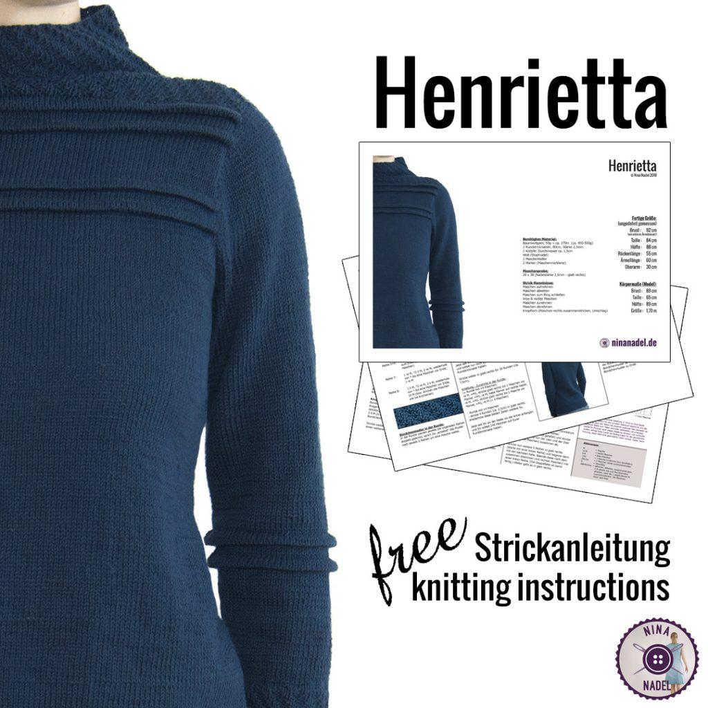 Strickanleitung: Henrietta