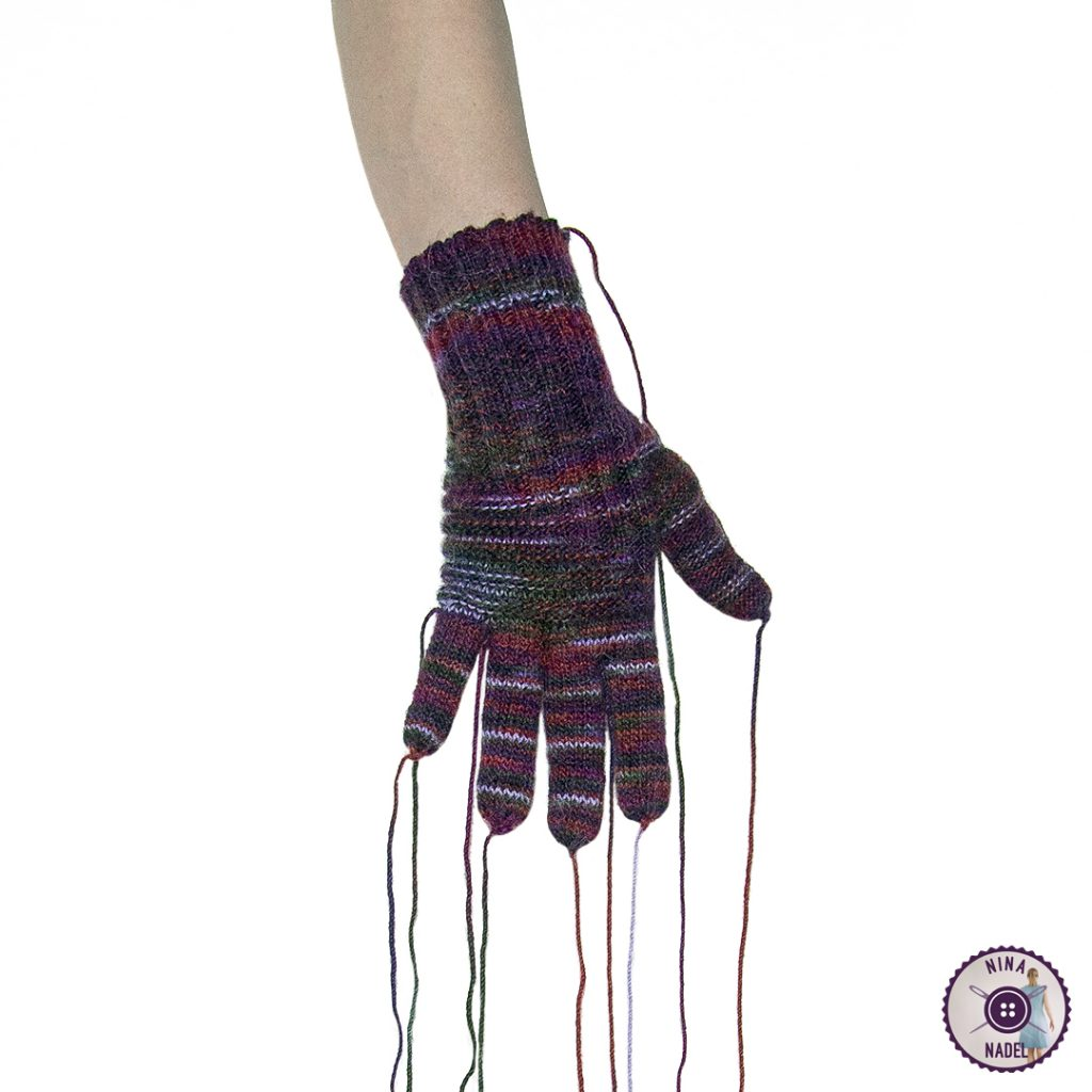 Fingerhandschuh Nr. 1!