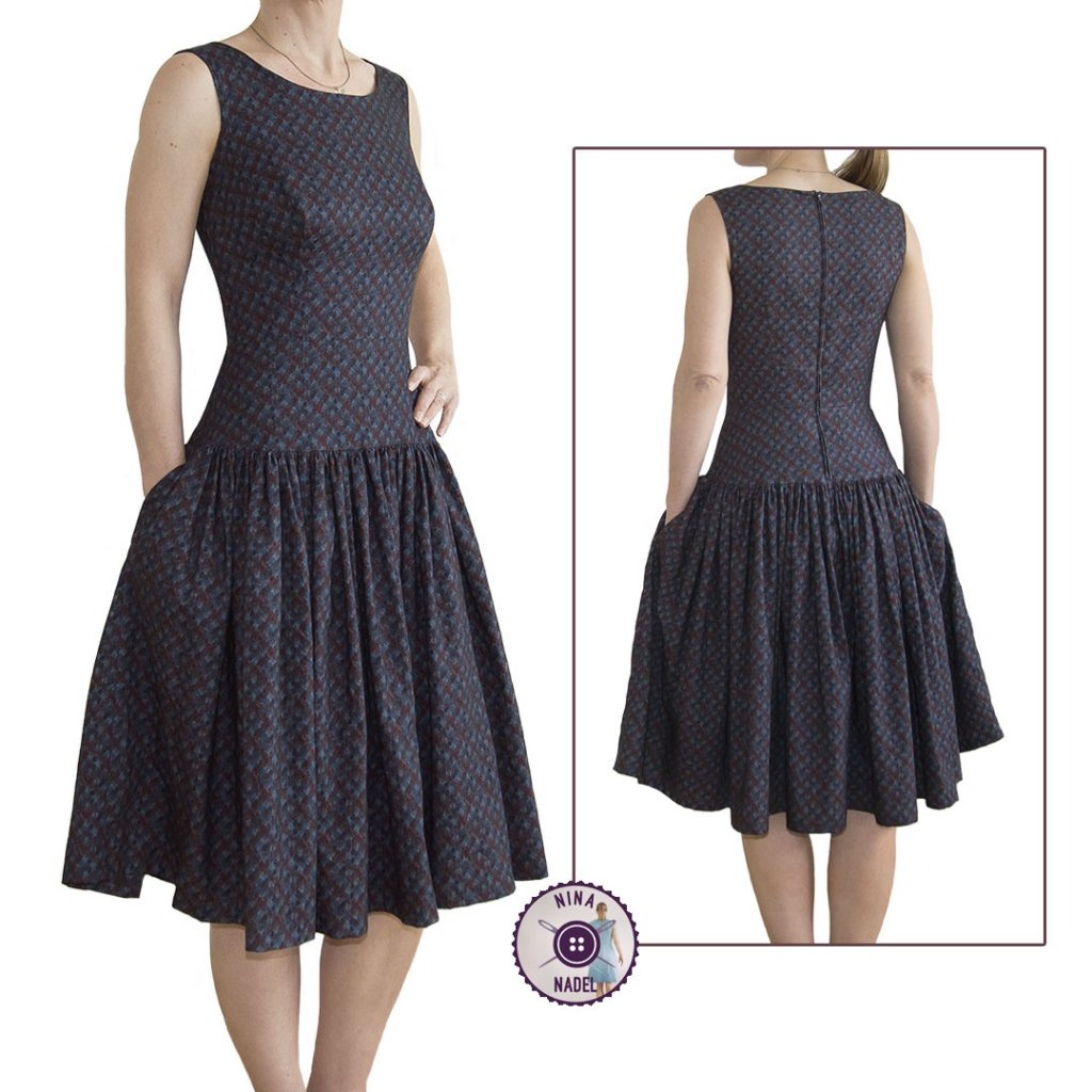 Sewing Pattern Review: Night and Day Dress
