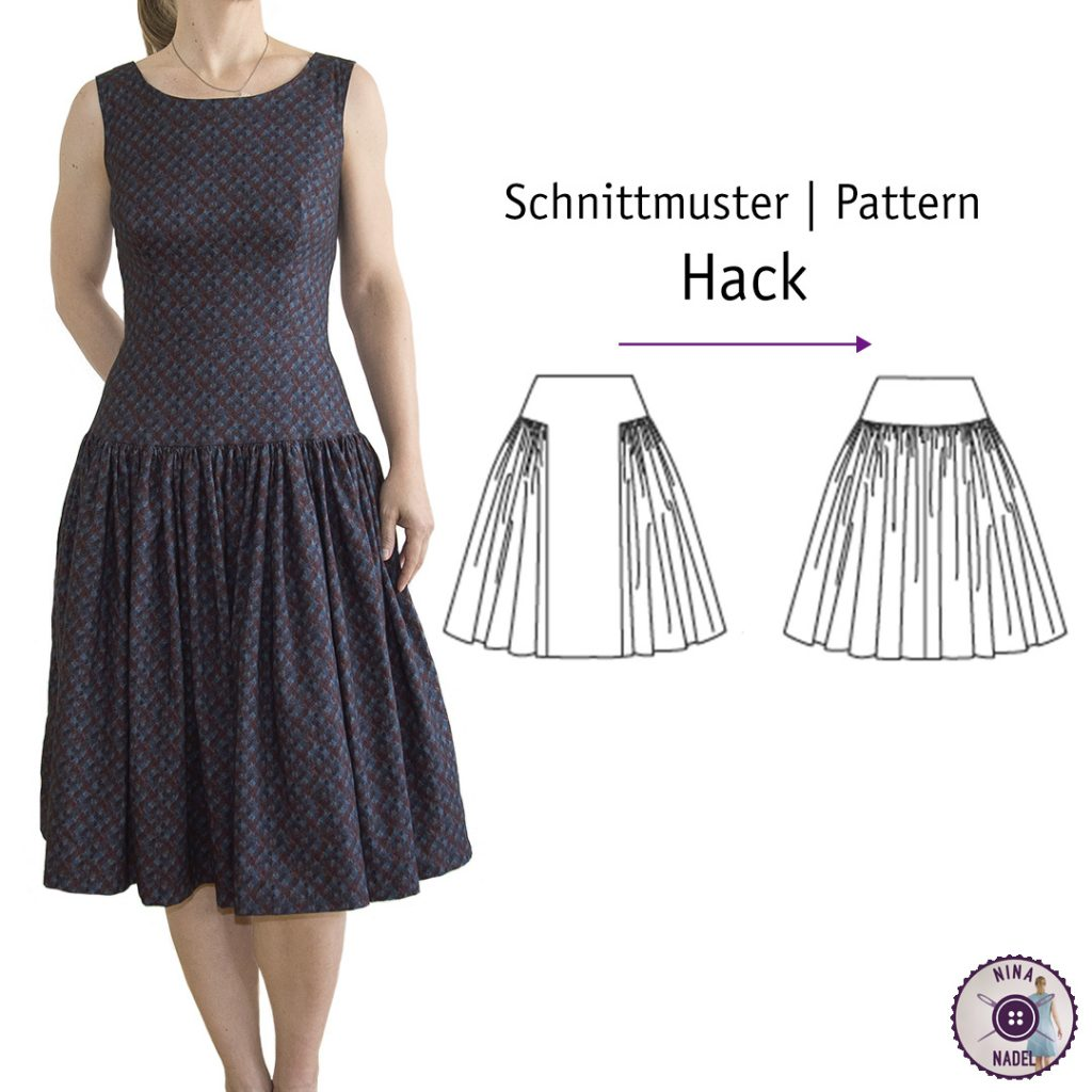 Schnittmuster Hack: Night and Day Dress